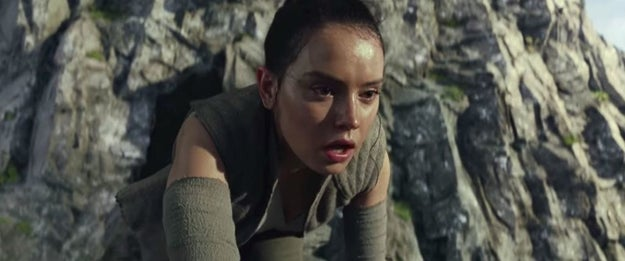 Why did Rey only see herself in the weird hall of mirrors/reflecting thing?