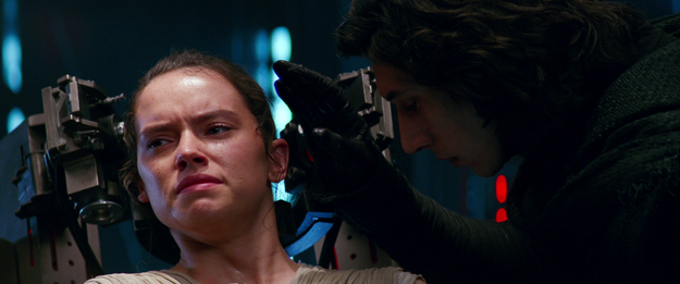 What the heck is connecting Kylo Ren and Rey, then, after Snoke died?