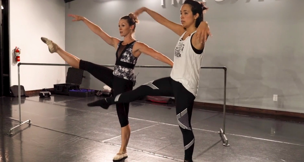 Kyle suggested Ashly go to a ballet class to help with her posture with professional ballerina Melissa Sandvig.