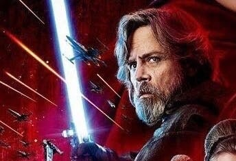 And why, when he Force-projected himself, did he choose to be seen with his blue lightsaber (which at that point was broken anyway by Rey and Kylo)?