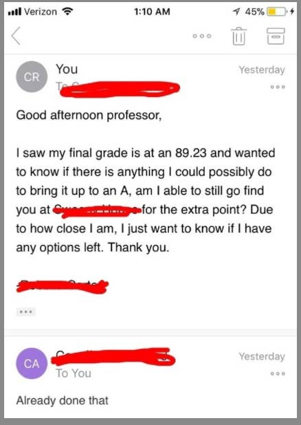 16 Professors Who Answered Emails In The Most Professor-y