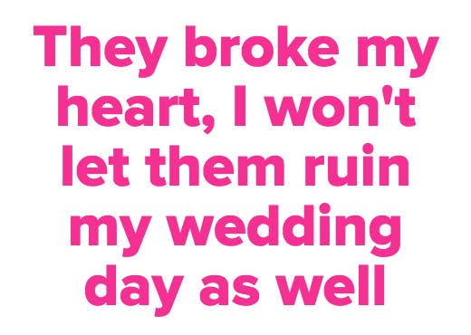 13 wedding scenarios that will probably make you cry thinking vote votes junglespirit Images