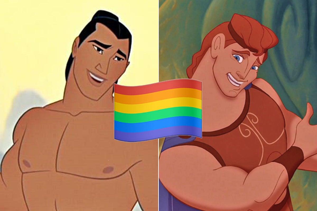Porn disney videos gay Cartoon porn