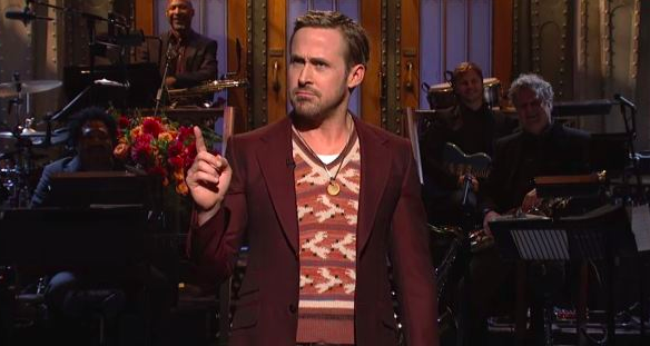 Ryan Gosling hosted the season 43rd season premiere of Saturday Night Live in 2017.