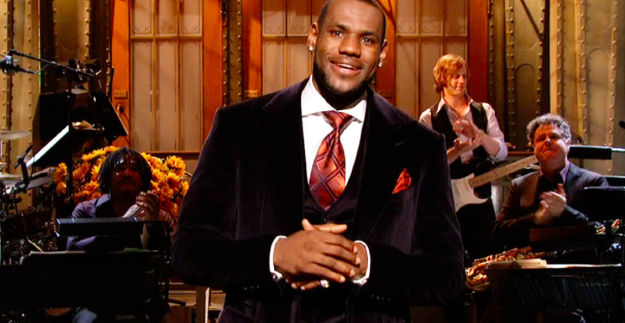 LeBron James hosted the 33rd season premiere of Saturday Night Live in 2007.