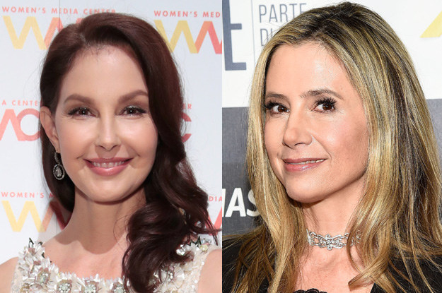 Actors Ashley Judd and Mira Sorvino were two of the most famous women to come forward with allegations of sexual harassment against producer Harvey Weinstein in the New Yorker and New York Times reports in October that spurred a flood of other allegations against powerful men.