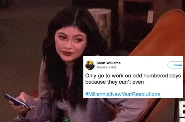 """People Are Sharing """"Millennial New Years Resolutions"""" And I Can't Even With How Rude (But Funny) It Is"""