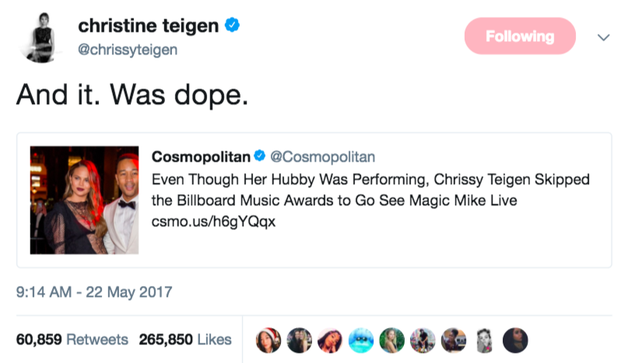 When she gave absolutely zero fucks: