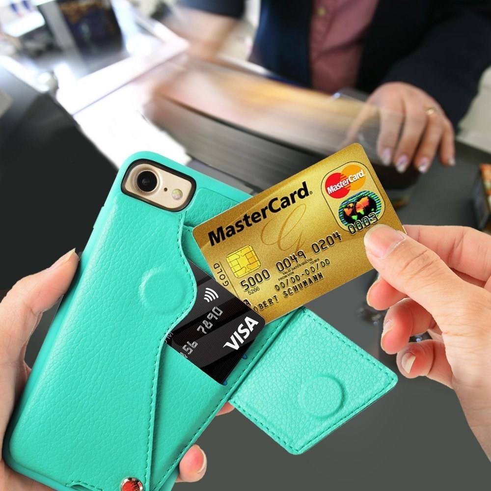 a phone wallet that keeps all your credit cards travel cards and your phone all in one handy place perfect for life in a busy city