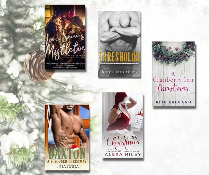 """Whether skating across the icy paths of New England or through the shelves of e-Retailers, this book friend loves the season when authors deliver the best in winter holiday tales. Love, Snow and Mistletoe by Hilaria Alexander, Alexandra Bishop, Megan Green, DB James, Zeia Jameson, Jennifer Rebecca and Rachel Renee""""My favorite was A Scottish Christmas by Hilaria Alexander that follows Sam & Hugh from her book Lost in Scotland!""""Thresholds by Kate Canterbary""""What an amazing surprise Holiday gift from Kate Canterbary! Thresholds is everything we love of The Walshes and more. The growls, dirty, DIRTY talk, sibling squabbles, love and family bonds.""""A Cranberry Inn Christmas by Beth Ehemann""""A Cranberry Inn Christmas is a touching conclusion to the Cranberry Inn series. It gives us a chance to reconnect and ties up some loose ends for us. I adore this story, this series, this author!!""""Stealing Christmas by Alexa Riley """"I love how sweet Winter is and how caring Nicholas is. Winter is happy just knowing she can put a smile on Nic's face and he will do anything to show Winter how much he loves her.""""Daxton: A Scrooged Christmas by Julia Goda""""Daxton is a really entertaining and enjoyable holiday story. Definitely worth the read!"""""""