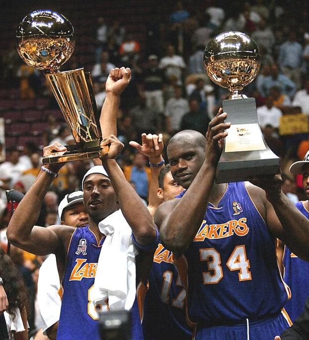 Shaquille O'Neal, who played with, and against Kobe: