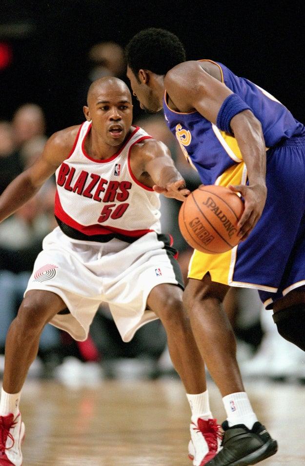 Greg Anthony, who played against Kobe: