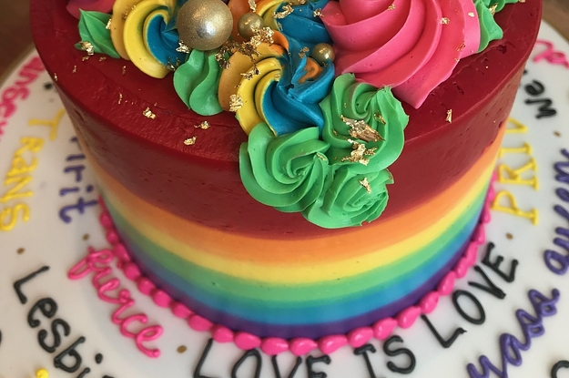 This Guy Asked For The Gayest Cake Ever And Bakery Delivered