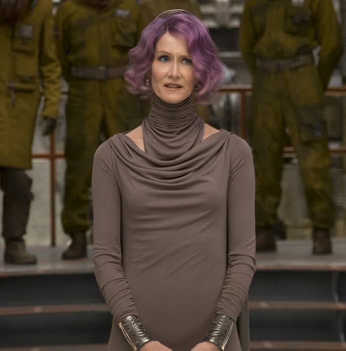 Laura Dern in Star Wars: The Last Jedi.