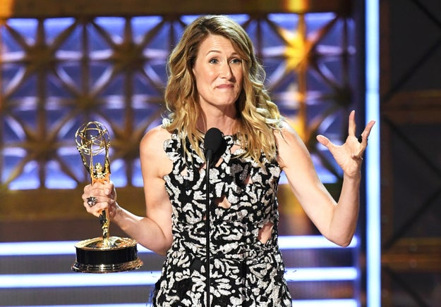 Oh, and she WON AN EMMY for her performance.