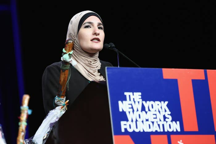 Linda Sarsour on May 11, 2017, in New York City.