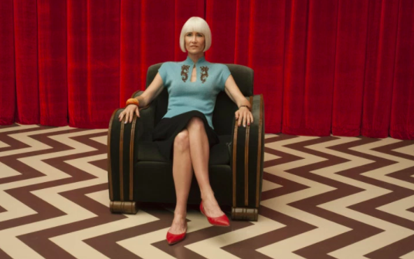 If that wasn't enough, she also starred in the most underrated (and arguably best) show of the year, Twin Peaks: The Return.
