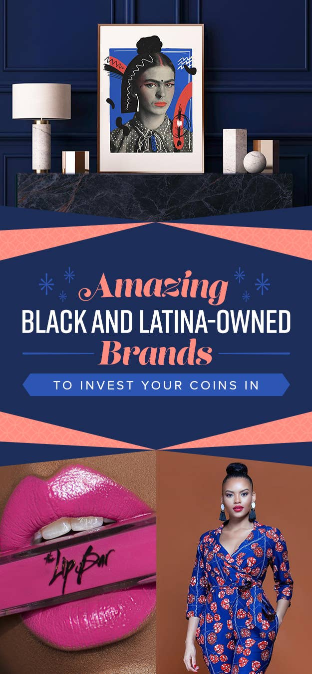 Our beauty team Essence, Dani, and Patrice put together this list of black and Latinx-owned brands, and separated them by category: Beauty & Grooming, Style, and Lifestyle. Get your shop on, and stay woke!