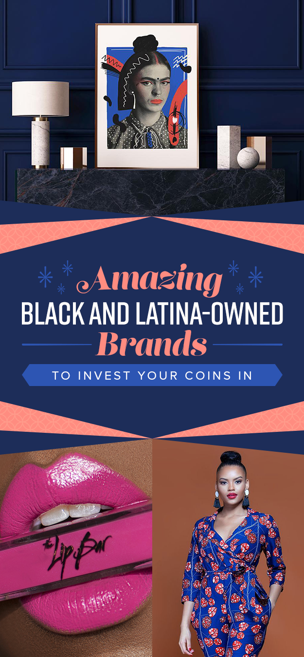 44 amazing black and latinx-owned brands you won't be able to stop