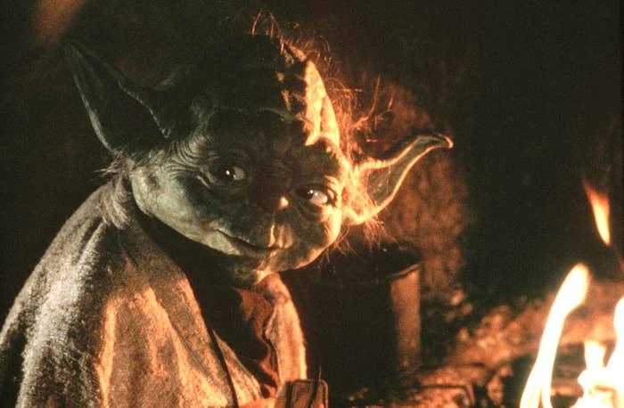 Yoda in Star Wars: Episode VI — Return of the Jedi.