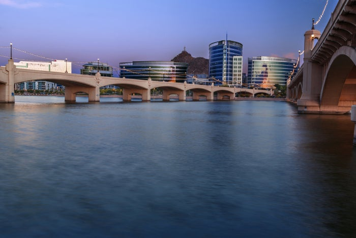 Tempe Town Lake is just a few bridges and some water, tbh.
