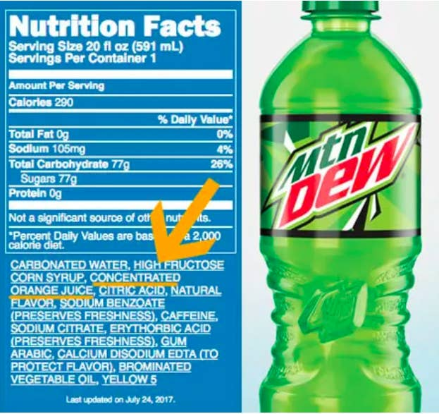 So... Does this mean it's okay to have soda for breakfast?Learn more: 27 Random Food Facts That Will Fuck With Everything You Know