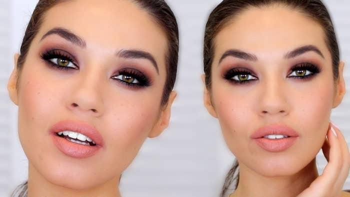 This video is called 'easy smokey eyes for beginners' and it's actually pretty easy to follow. It's such a good strong look, that's perfect for a night out. Here's how it's done.