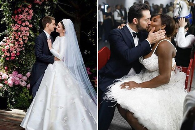 The Most Beautiful Celebrity Marriages Of 2017