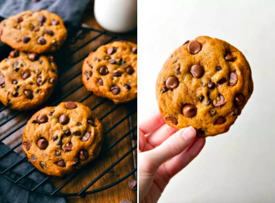 """I made these pumpkin chocolate chip cookies this past fall (using a recipe I found in a BuzzFeed post!) and they were amazing. My boyfriend described them as 'tasting fall.'"" —MickeyLaLaGet the recipe here."