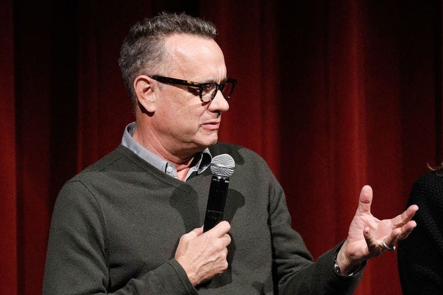 """And individually we have to decide when we take to the ramparts. You don't take to the ramparts necessarily right away, but you do have to start weighing things,"" Hanks continued. ""You may think, 'You know what? I think now is the time.' This is the moment where, in some ways, our personal choices are going to have to reflect our opinions. We have to start voting, actually, before the election."""