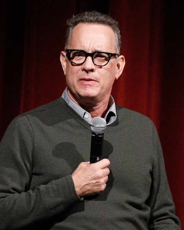 """Look, I didn't think things were going to be this way last November,"" Hanks said. ""I would not have been able to imagine that we would be living in a country where neo-Nazis are doing torchlight parades in Charlottesville and jokes about Pocahontas are being made in front of the Navajo code talkers."""