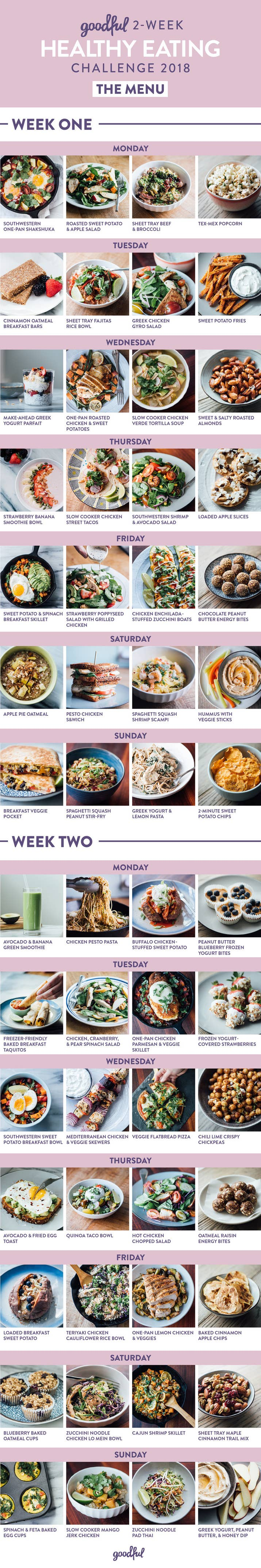 14 days of healthy meals that actually taste good at the bottom of this post there are links to navigate to each dayx27 forumfinder Choice Image