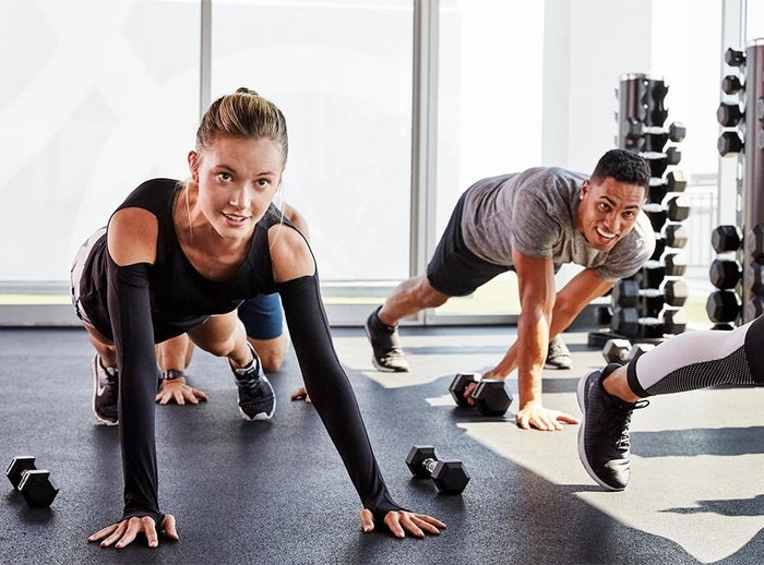 Sign up for a ClassPass membership and gain access to hundreds of fitness studios in your area. Get it from ClassPass. Prices vary depending on city and number of classes. If ClassPass isn't in your area, search Groupon for different fitness studio packages!