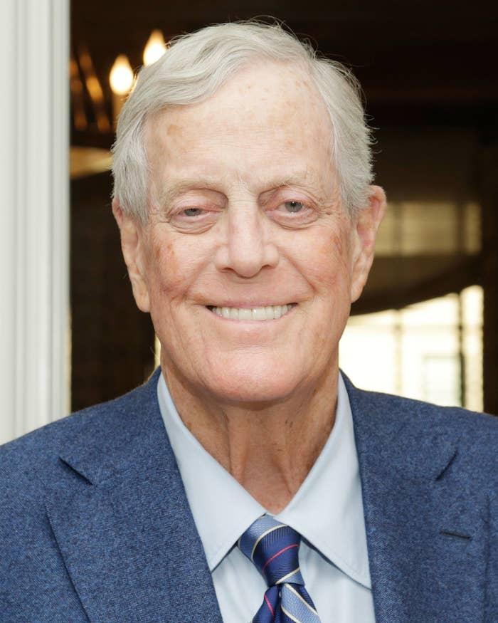 Republican megadonor David H. Koch