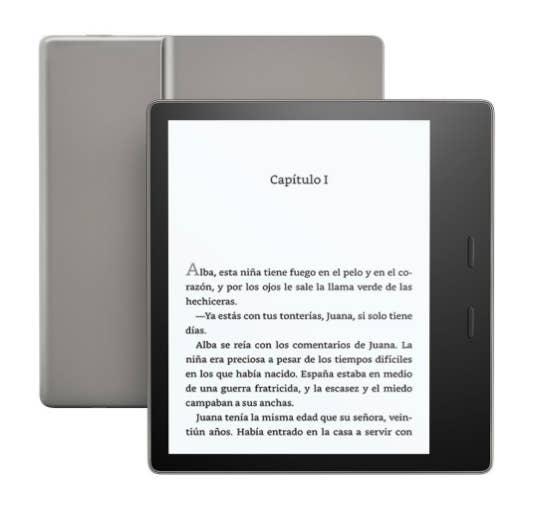 Esta nueva versión de Kindle, con un acabado de aluminio que la hace mejor que sus antecesores, puede darte muchas horas de lectura gracias a las mejoras en su batería y su diseño fino y ligero.