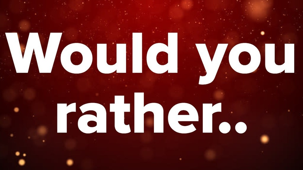 would you rather the christmas edition