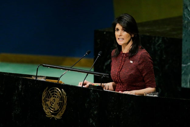 Here Are The 128 Countries Who Are Now Dead To Nikki Haley