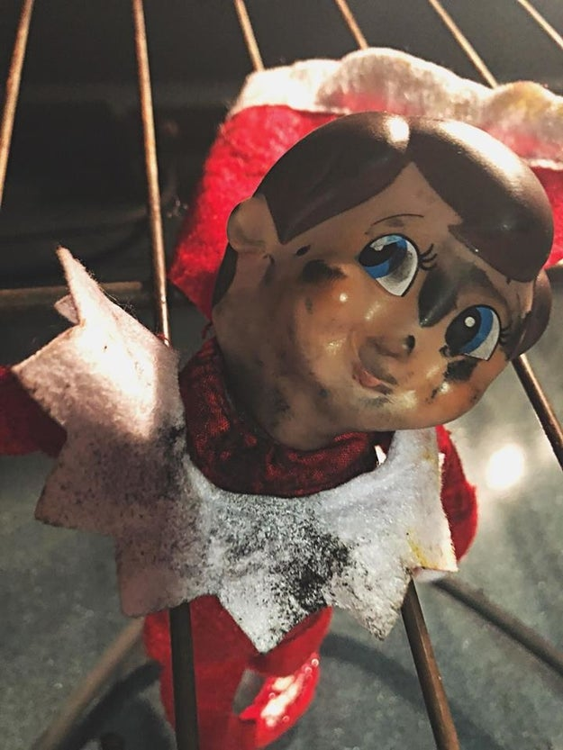 "The kids had very different reactions to the Elf's ""murder,"" according to their mom. ""My son was devastated and my daughter was glad he was dead so he couldn't tell on her anymore,"" Mease said."