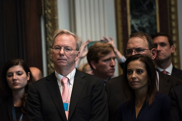 Former Google CEO Eric Schmidt Steps Down As Alphabet's Executive Chairman