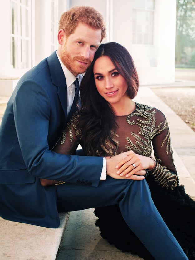 Their official engagement portraits were released today and they're too perfect for words.