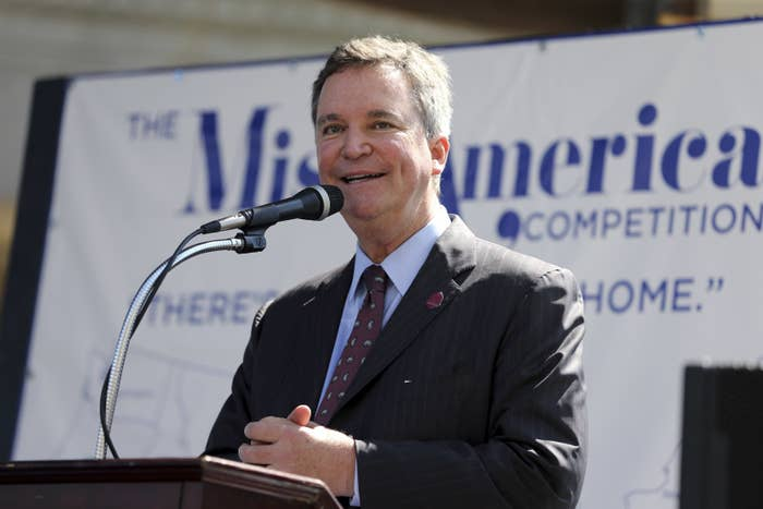 Sam Haskell, CEO of the Miss America Organization.