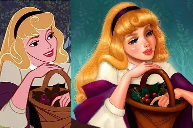 Artist Reimagines Disney Princesses With Realistic Faces
