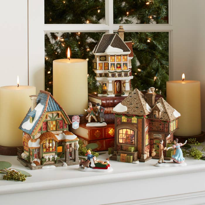 0a68b2e96 Why Miniature Christmas Villages Are Such A Big Thing