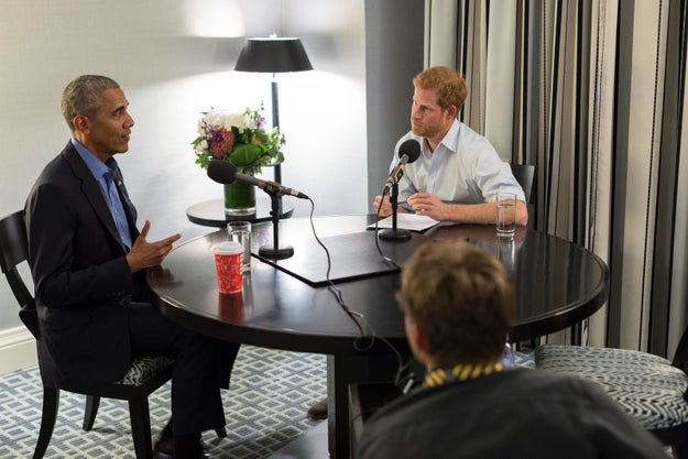 President Obama warned against too much social media use in a sit down interview with Prince Harry for BBC Radio.