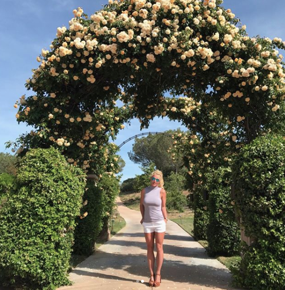 When she posted a picture of her backyard and it made me feel both worthless and poor but also happy because Britney deserves a backyard this nice.