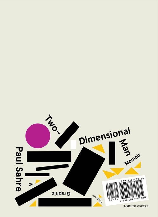 Two-Dimensional Man by Paul Sahre