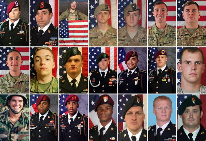 These US Troops Were Killed In Combat During Trump's First