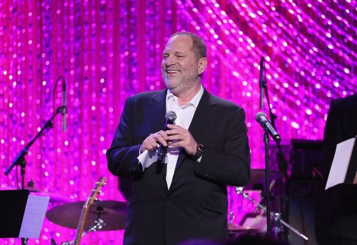 Harvey Weinstein on Feb. 25 in Beverly Hills, California.