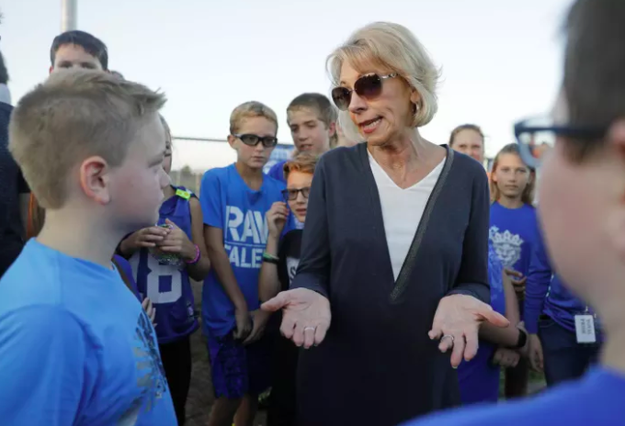 Betsy DeVos Is Being Sued By 17 States Over For-Profit College Rules