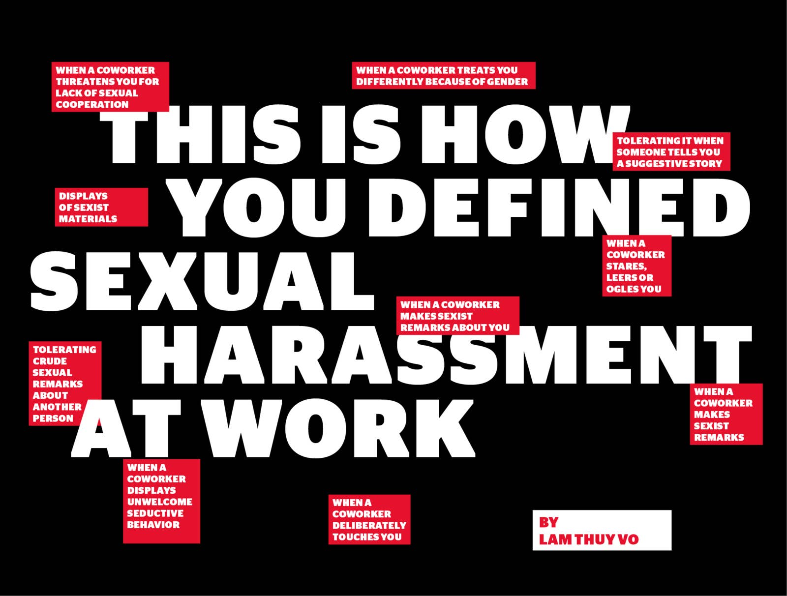 We Asked How You Define Sexual Harassment At Work — And Your Answers Are In